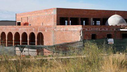 El oratorio de Torroella de Montgrí en su estado actual de obras.