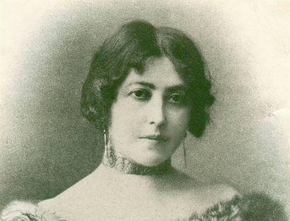La escritora Concha Espina.
