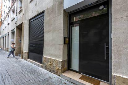 Una vivienda en unos bajos en el barrio de Sant Martí de Provençals.