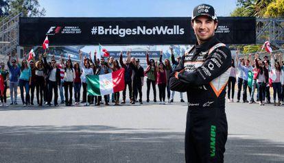 La campaña en la que participa el piloto de Force India