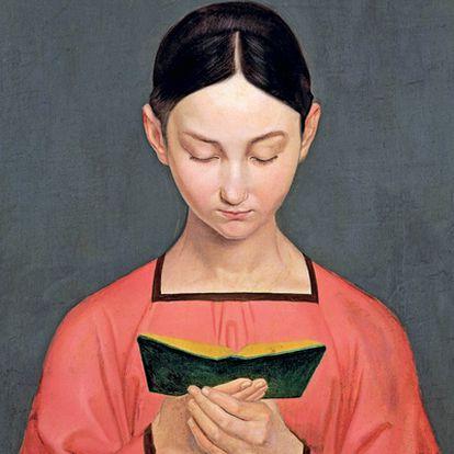 'Muchacha leyendo' (1828), de Gustav Henning