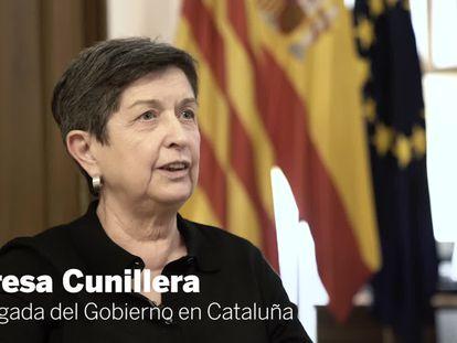 Teresa Cunillera, delegada del Govern espanyol a Catalunya.