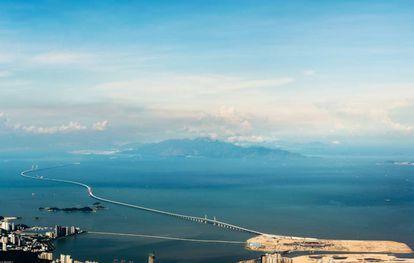 Puente entre Hong Kong, Zhuhai y Macao