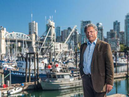 Daniel Pauly, en un puerto pesquero.