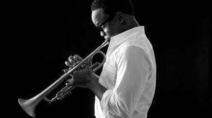 El trompetista californiano Ambrose Akinmusire.