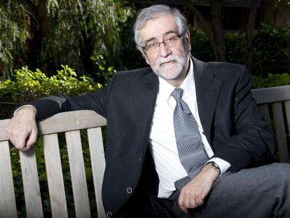El escritor Vicenç Villatoro.