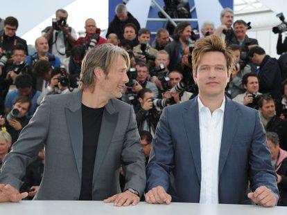 El actor Mads Mikkelsen y el director Thomas Vinterberg