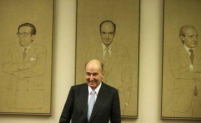 Miquel Roca, en la comisión del estado autonómico del Congreso.