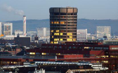 La sede del BIS, en Basilea, el pasado 30 de enero.