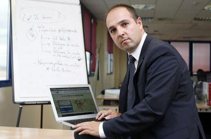 Carlos Falcato, fundador de la plataforma.