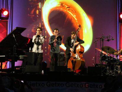 Actuación del quinteto de Daahoud Salim.