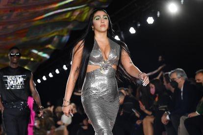Lourdes Leon en un desfile de la Semana de la Moda de Milán en septiembre.