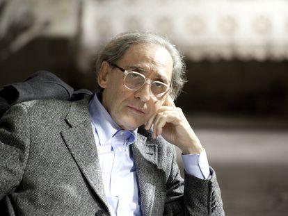 El cantante Franco Battiato, en Turín en 2010.