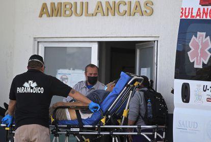 El Hospital General de Ciudad Juárez, en el Estado de Chihuahua, en marzo.