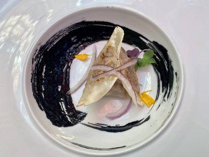 Gyoza de calamares. J.C. CAPEL