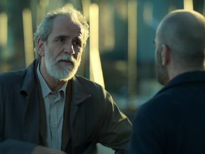 Willy Toledo y Luis Tosar en 'Los favoritos de Midas'.