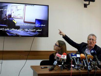 """Si no cooperas, detendremos a todo el mundo"""", amenazan los agentes israelíes a la muchacha"""