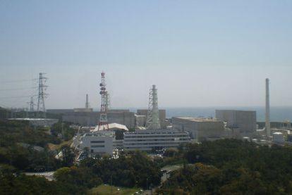 La central nuclear de Hamaoka, en la región de Tokai.