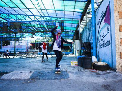 El 'skate' como herramienta de empoderamiento en Palestina