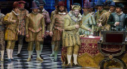 Una escena de 'Rigoletto'.