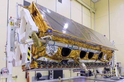 El satélite de observación Paz, que será lanzado a final de año tras varios retrasos.