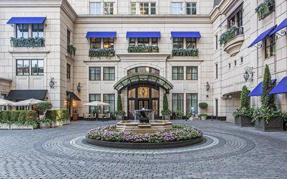 Las residencias del Waldorf-Astoria en Chicago, donde Germán Larrea compró un apartamento.