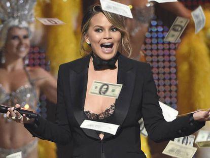 Chrissy Teigen en los premios Guys Choice, el pasado junio en California.