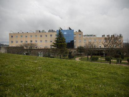 Residencia de mayores DomusVi del barrio de San Lazaro, en Santiago de Compostela.