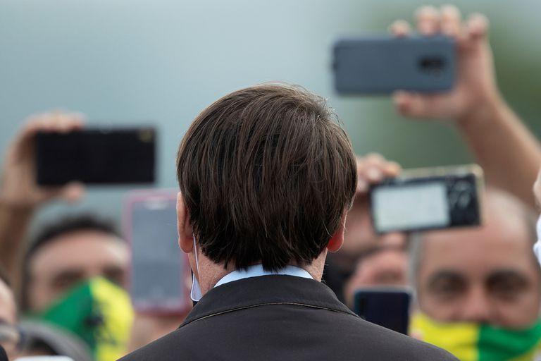 El presidente de Brasil, Jair Bolsonaro, en mayo pasado.