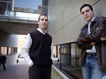 Arnau Sumpsi y Eduard Calvo.