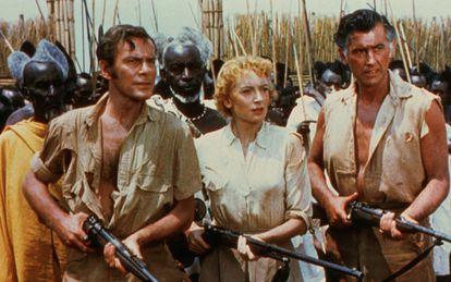 Una escena de la versión cinematográfica de 1950 de 'Las Minas del Rey Salomón'.