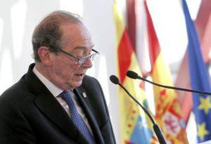 El director de la Real Academia Española, José Manuel Blecua. EFE/Archivo