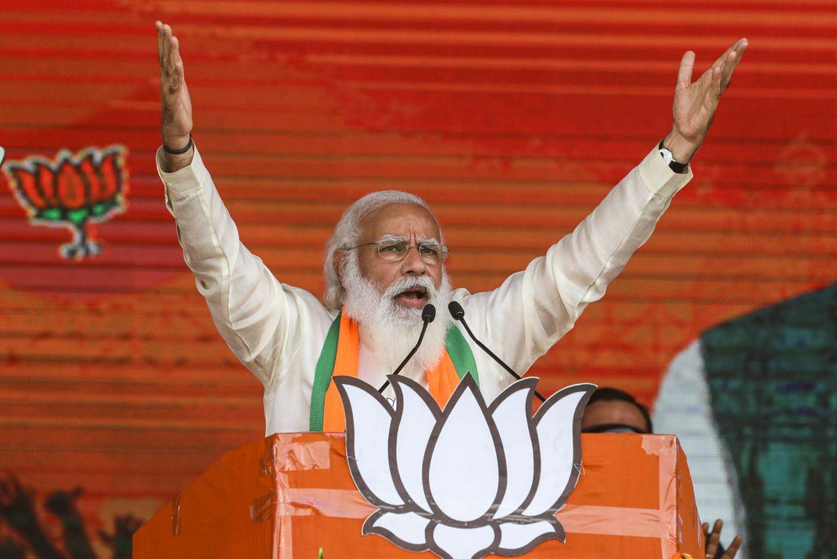 La crisis del coronavirus en la India agrieta la imagen de Modi