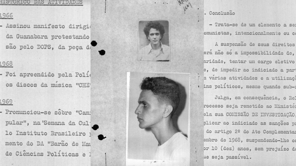 La dictadura brasileña contra Caetano Veloso: los archivos completos de la represión