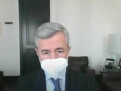 Declaración de Ángel Acebes en el juicio a Luis Bárcenas por la caja b del PP.