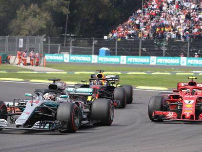 Imagen del Gran Premio de México de 2019.