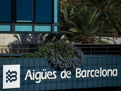 La sede de Aigües de Barcelona (Agbar).