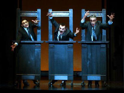 Una escena de 'Frank V' del Teatre Lliure.