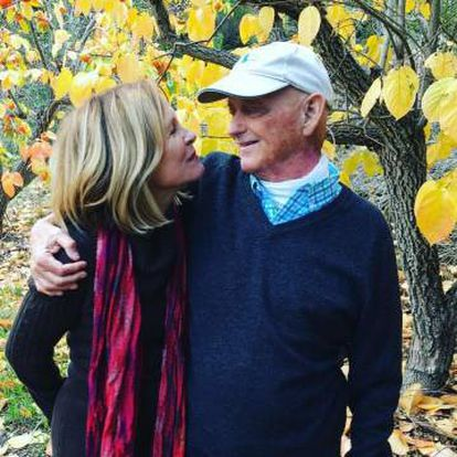 Teri y Jack McCall en 2015, en una foto familiar.