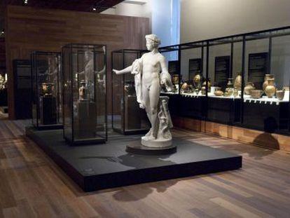 Montaje del Museo Arqueológico Nacional, 2014.