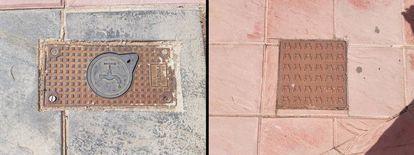 Alcantarillas con forma rectangular y cuadrada.