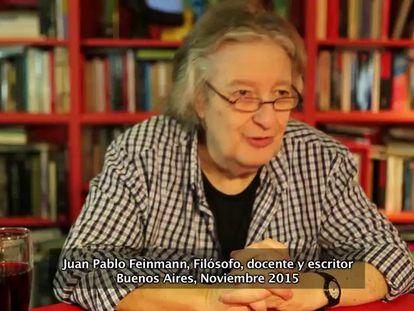 """Feinmann: """"El gran error de Cristina fue no formar un sucesor"""""""