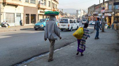 Muchos de los inmigrantes hallados muertos provenían de Etiopía. En la imagen, Adis Abeba, su capital.