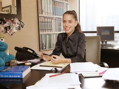 La abogada Laura Wasser, en su despacho de Los Ángeles.