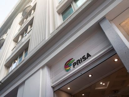 Sede del Grupo Prisa en Gran Vía, en Madrid.