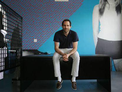 Dov Charney, fundador de American Apparel, en 2010.