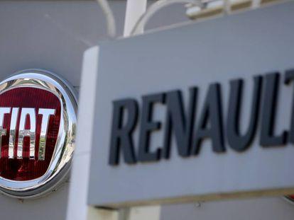 Logos de Fiat y Renault
