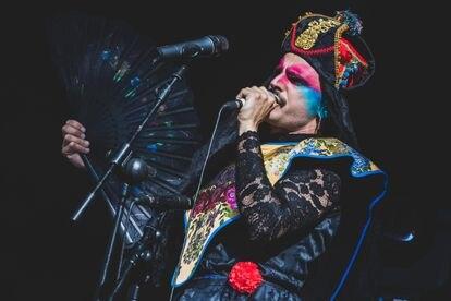 Rodrigo Cuevas actuando en el Matadero, en Madrid, el pasado 14 de mayo.