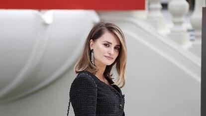 La actriz española Penélope Cruz, en Madrid, el pasado 4 de octubre.