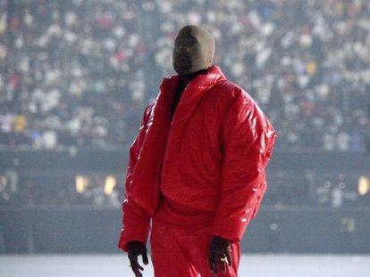 Kanye West presentando 'Donda' el 22 de julio en Atlanta.